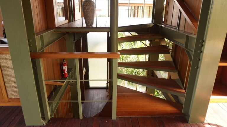 Treehouse B Multi-level Stairs