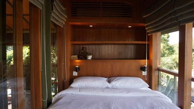 Treehouse B Enclosed Bedroom